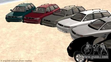 Daewoo Nubira I Wagon CDX US 1999 for GTA San Andreas interior