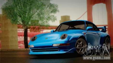 Porsche 911 GT2 (993) 1995 for GTA San Andreas back left view