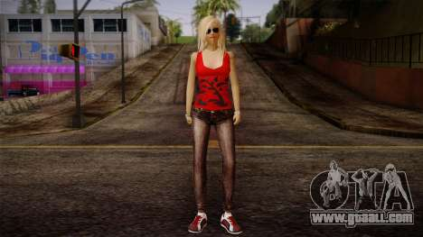 Gedimas Denise Skin HD for GTA San Andreas