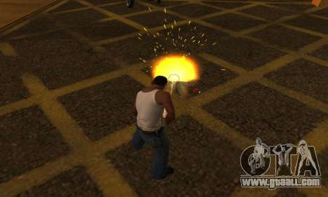 Yellow Effects for GTA San Andreas second screenshot