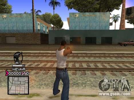 C-HUD by Kevka for GTA San Andreas third screenshot