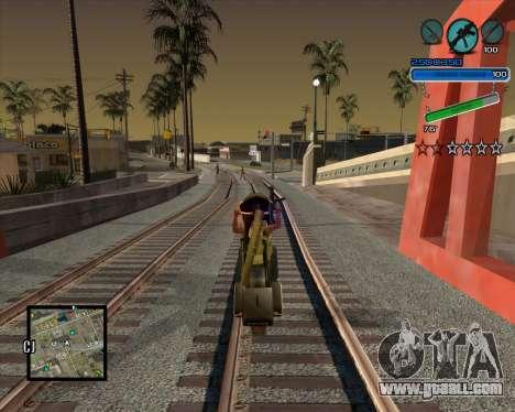 Excellent C-HUD for GTA San Andreas third screenshot