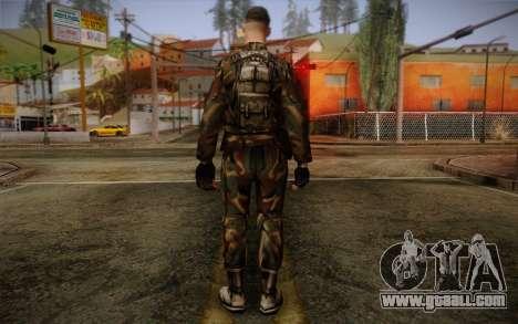 Soldier Skin 1 for GTA San Andreas second screenshot