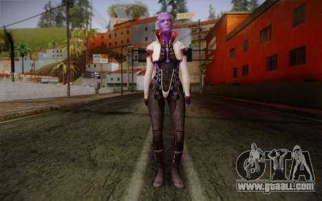 Halia from Mass Effect 2 for GTA San Andreas