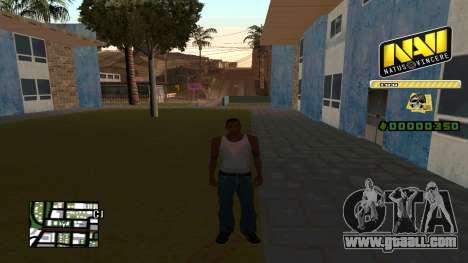 C-HUD NaVi for GTA San Andreas