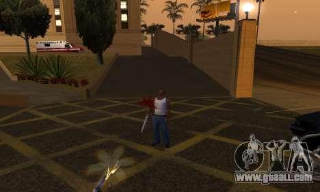 Yellow Effects for GTA San Andreas third screenshot