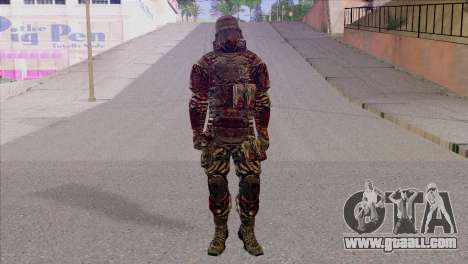 Outlast Skin 6 for GTA San Andreas