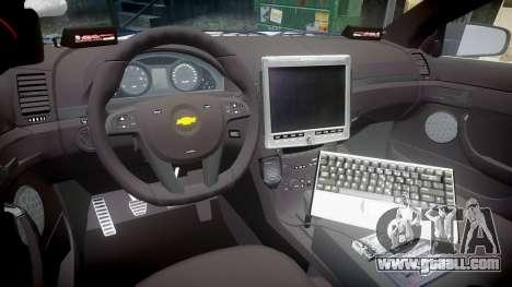 Chevrolet Caprice 2012 LCPD [ELS] v1.1 for GTA 4 back view