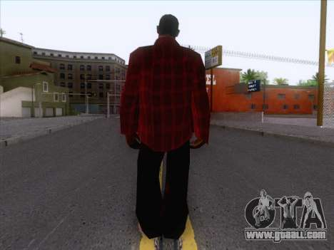 New Fam Skin 1 for GTA San Andreas second screenshot