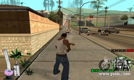 C-HUD Canabis for GTA San Andreas forth screenshot
