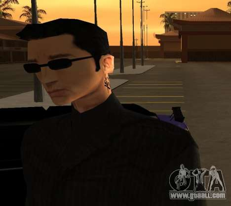Vusi Mu for GTA San Andreas fifth screenshot