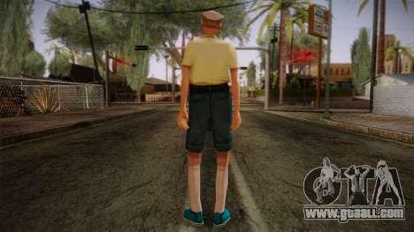 GTA San Andreas Beta Skin 17 for GTA San Andreas second screenshot