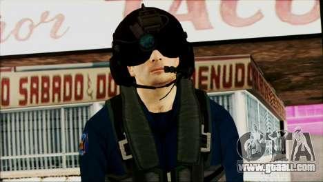 Chinese Pilot from Battlefiled 4 for GTA San Andreas third screenshot