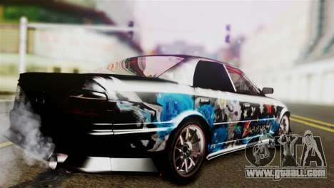 Toyota Chaser Hayabusa for GTA San Andreas left view