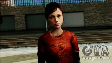 Ellie from The Last Of Us v1 for GTA San Andreas third screenshot
