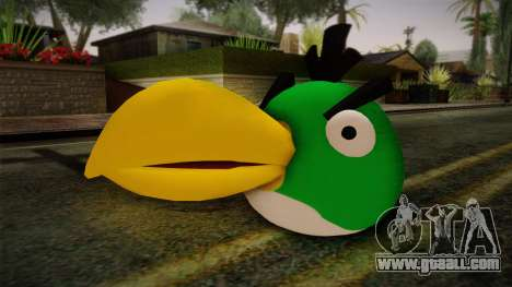 Green Bird from Angry Birds for GTA San Andreas