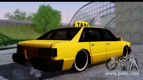 Slammed Taxi for GTA San Andreas left view