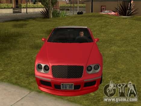 Cognoscenti Cabrio for GTA San Andreas right view