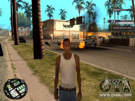CLEO HUD Spiceman for GTA San Andreas