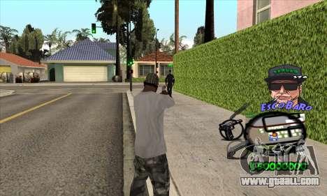 C-HUD by Travis Escobaro and Matthew Escobaro for GTA San Andreas second screenshot