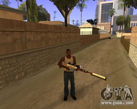 Graffity Weapons for GTA San Andreas second screenshot