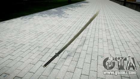 Sword-Yamato- for GTA 4