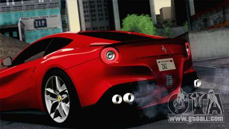 Ferrari F12 Berlinetta 2013 for GTA San Andreas right view