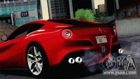 Ferrari F12 Berlinetta 2013 for GTA San Andreas right view
