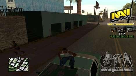 C-HUD NaVi for GTA San Andreas forth screenshot