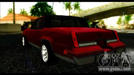 Oldsmobile Cutlass 1987 Beta for GTA San Andreas left view