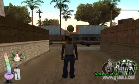 C-HUD Canabis for GTA San Andreas