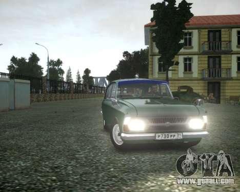 IZH 2125 Combi for GTA 4 inner view