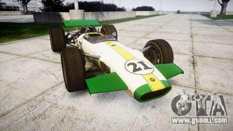 Lotus Type 49 1967 [RIV] PJ21-22 for GTA 4