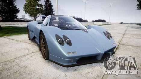 Pagani Zonda C12 S 7.3 2002 PJ1 for GTA 4