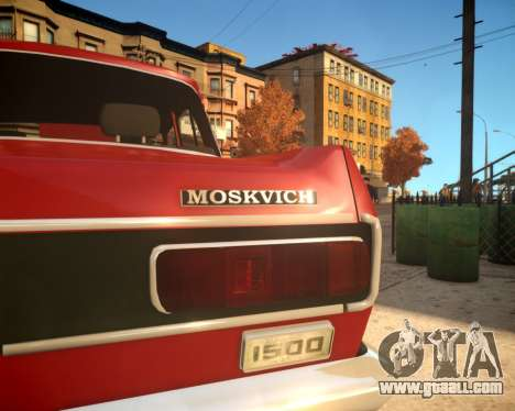 AZLK 2140 4x4 for GTA 4 side view