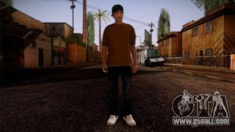 Gedimas Omyst Skin HD for GTA San Andreas