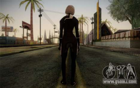 Karin Chakwas from Mass Effect for GTA San Andreas second screenshot