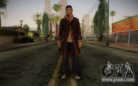 Aiden Pearce from Watch Dogs v12 for GTA San Andreas