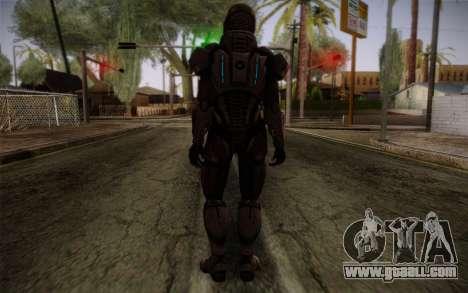 Shepard Default N7 from Mass Effect 3 for GTA San Andreas second screenshot