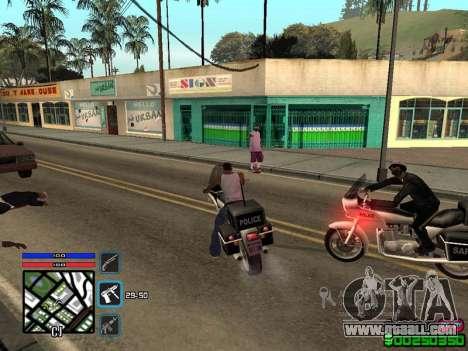 C-HUD by SampHack v.4 for GTA San Andreas third screenshot