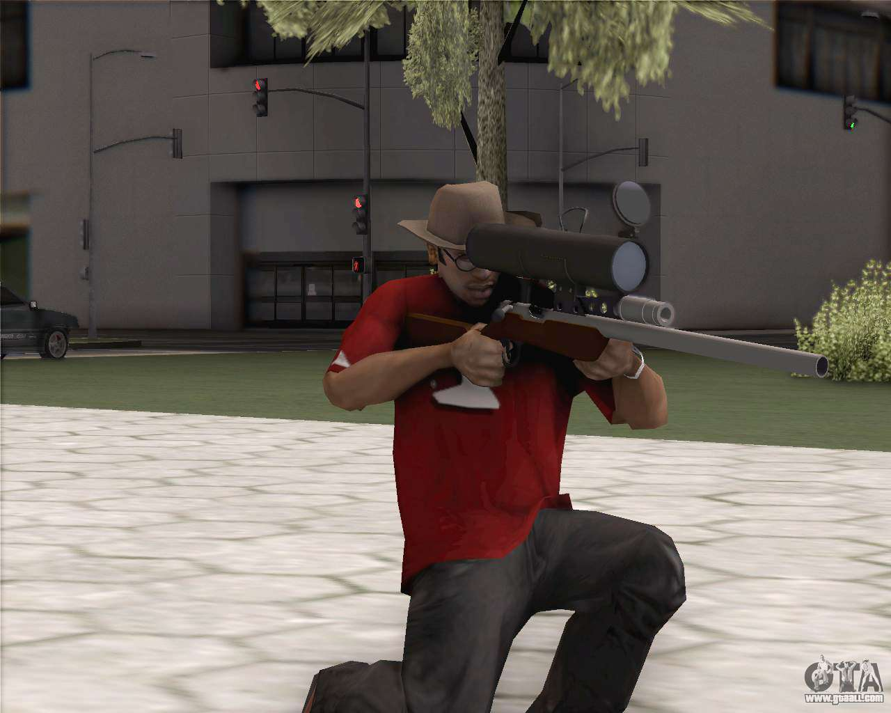 Tf2 Sniper Rifle For Gta San Andreas