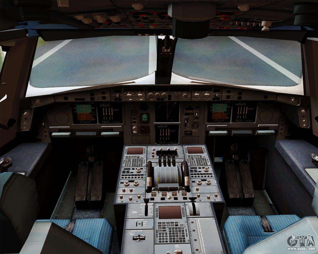 Airbus a380 800 emirates 40 anniversary sticker for gta for Airbus a380 interior
