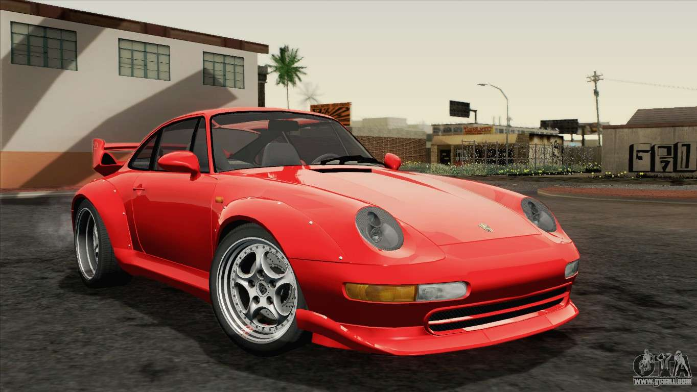 porsche 911 gt2 993 1995 hqlm for gta san andreas. Black Bedroom Furniture Sets. Home Design Ideas