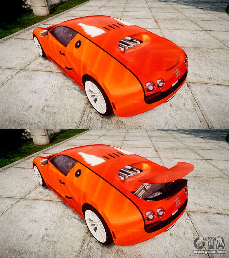 Bugatti Veyron 16 4: Bugatti Veyron 16.4 SS [EPM] Halloween Special For GTA 4