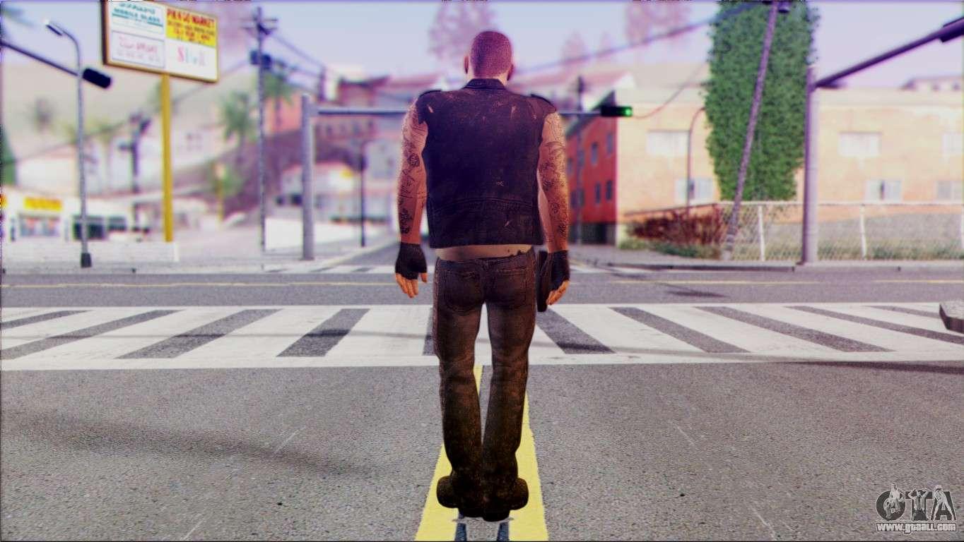 Left 4 Dead Survivor 6 for GTA San Andreas
