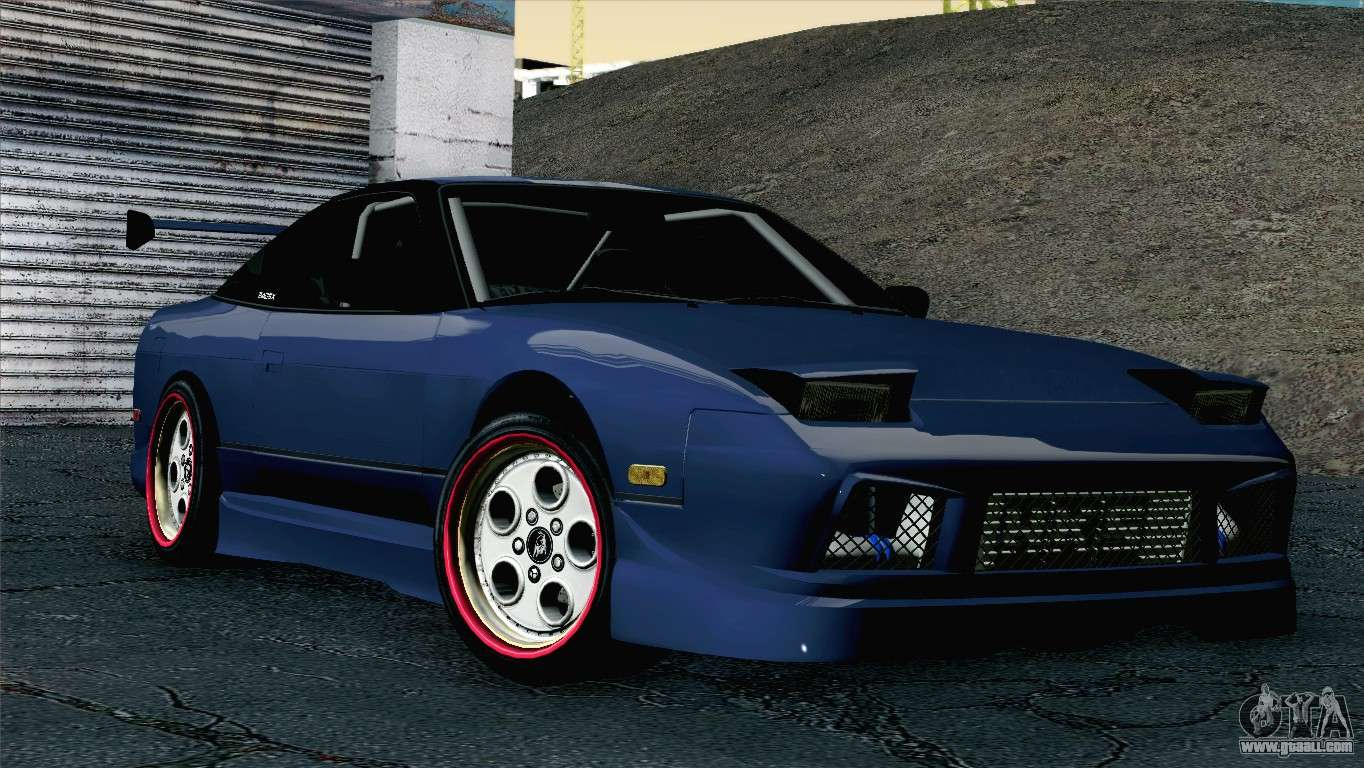 nissan 180sx easystreet for gta san andreas. Black Bedroom Furniture Sets. Home Design Ideas
