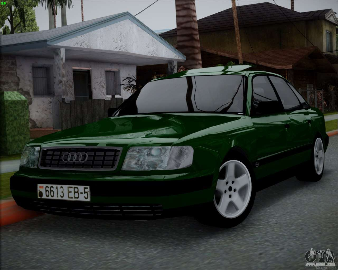 audi 100 c4 1994 for gta san andreas. Black Bedroom Furniture Sets. Home Design Ideas