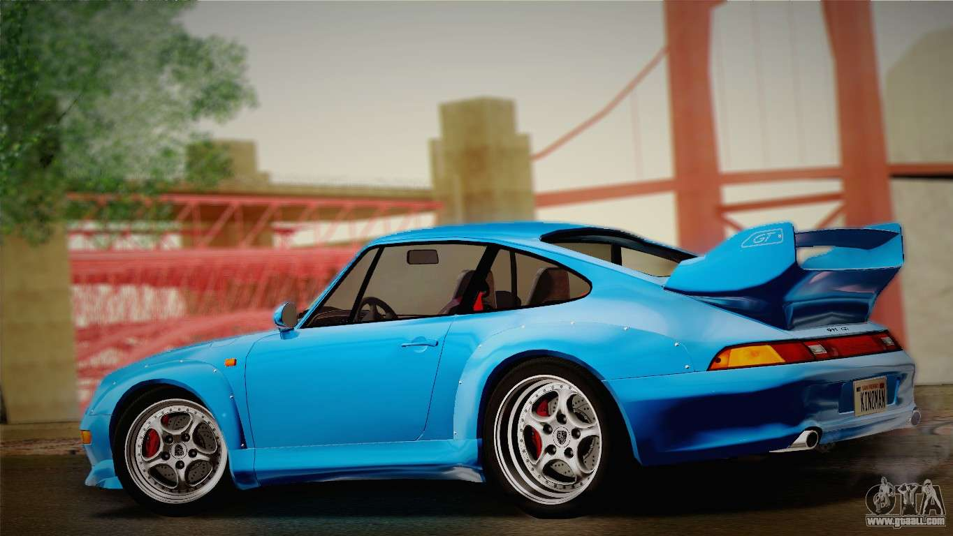 porsche 911 gt2 993 1995 for gta san andreas. Black Bedroom Furniture Sets. Home Design Ideas