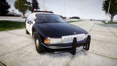Chevrolet Caprice 1991 LAPD [ELS] Traffic