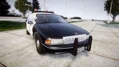 Chevrolet Caprice 1991 LAPD [ELS] Traffic